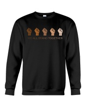 We All Stand Together BLM Crewneck Sweatshirt thumbnail