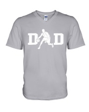 Baseketball Dad V-Neck T-Shirt thumbnail