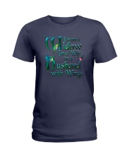 Husband Wings Ladies T-Shirt thumbnail