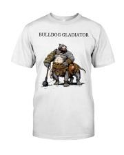 Bulldog Gladiator Classic T-Shirt front