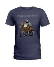 Bulldog Gladiator Ladies T-Shirt thumbnail