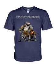 Bulldog Gladiator V-Neck T-Shirt thumbnail