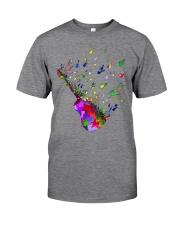 Guitar Watercolor Classic T-Shirt tile