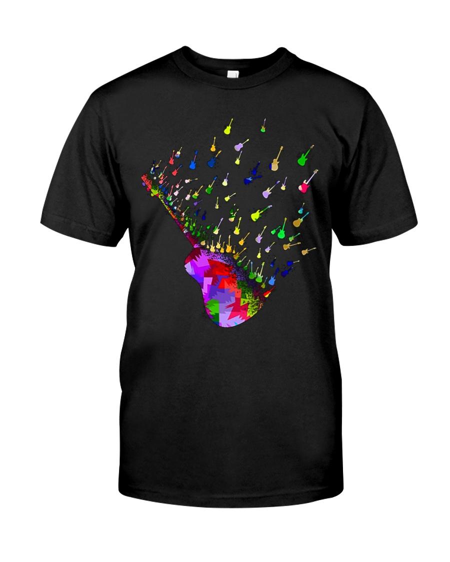 Guitar Watercolor Classic T-Shirt