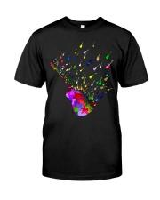 Guitar Watercolor Classic T-Shirt front