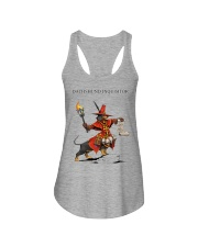 Dachshund Inquisitor Ladies Flowy Tank tile