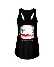 Phil Phillis Social Distancing T-shirt Ladies Flowy Tank thumbnail