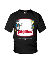 Phil Phillis Social Distancing T-shirt Youth T-Shirt tile