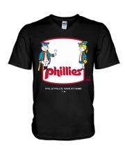 Phil Phillis Social Distancing T-shirt V-Neck T-Shirt thumbnail