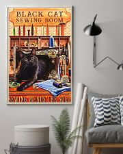 Black Cat Sewing Poster  11x17 Poster lifestyle-poster-1