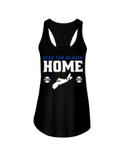Stay The Blazes Home Ladies Flowy Tank thumbnail