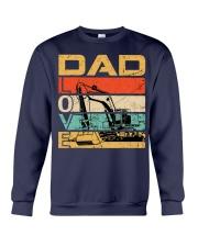 Excavator Dad Love Crewneck Sweatshirt thumbnail