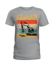 Excavator Dad Love Ladies T-Shirt thumbnail