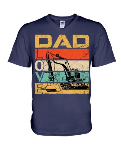 Excavator Dad Love