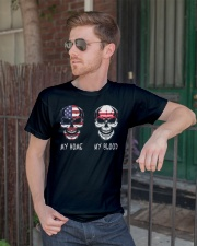 My Home America - Washington D C Classic T-Shirt lifestyle-mens-crewneck-front-2