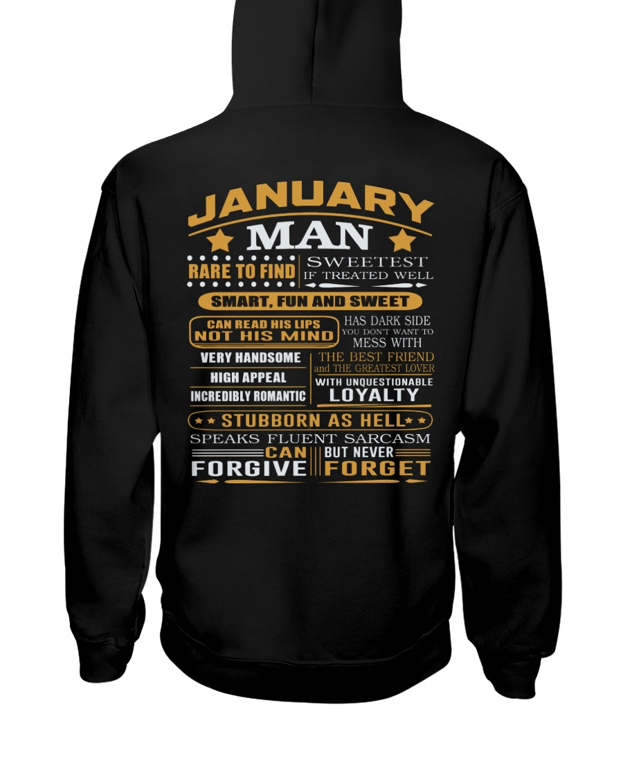 MAN FORGET 1 Hooded Sweatshirt