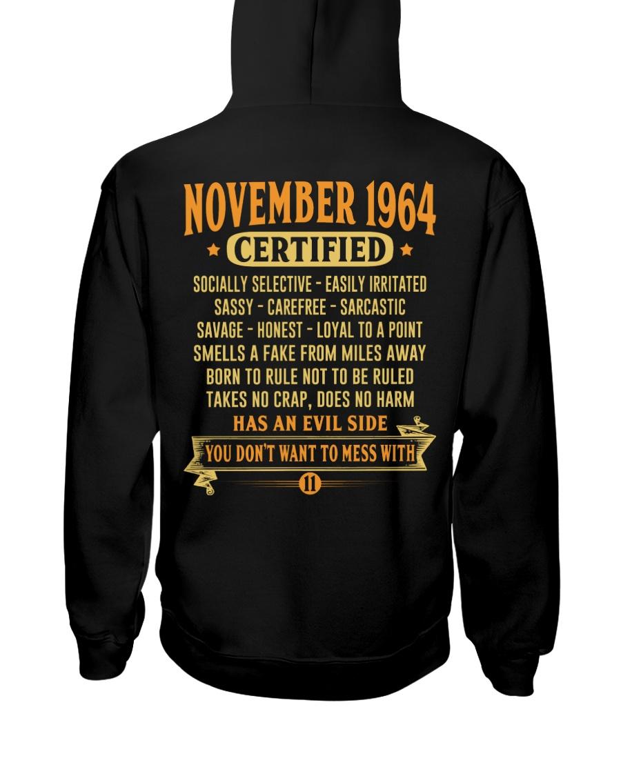 MESS WITH YEAR 64-11 Hooded Sweatshirt