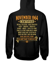 MESS WITH YEAR 64-11 Hooded Sweatshirt back