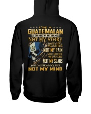 Guatemalan Hooded Sweatshirt back
