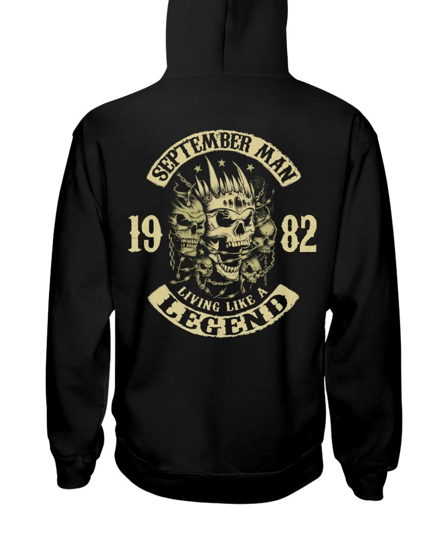 MAN 1982- 9 Hooded Sweatshirt