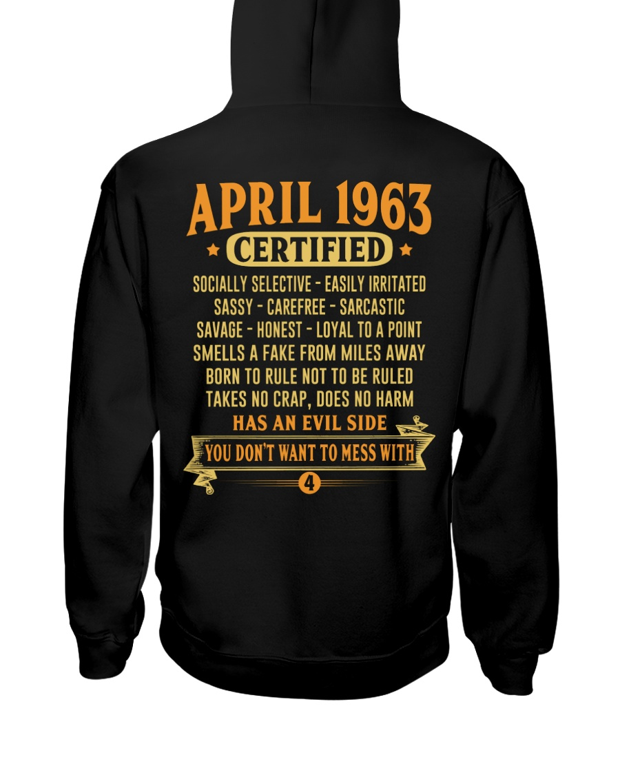 MESS WITH YEAR 63-4 Hooded Sweatshirt