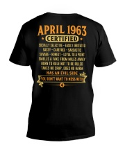 MESS WITH YEAR 63-4 V-Neck T-Shirt thumbnail