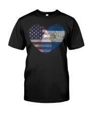 MY HEART Nicaragua Classic T-Shirt front