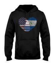 MY HEART Nicaragua Hooded Sweatshirt thumbnail