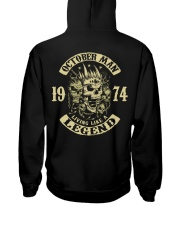 MAN 1974 010 Hooded Sweatshirt back