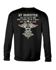 MY DAUGHTER - NURSE 06 Crewneck Sweatshirt thumbnail