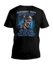 NOT MY 75-8 V-Neck T-Shirt thumbnail