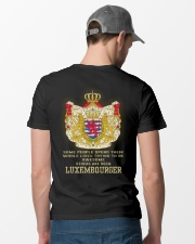 Awesome - Luxembourger Classic T-Shirt lifestyle-mens-crewneck-back-6