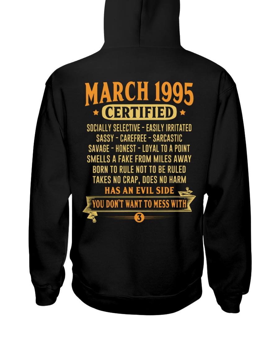 MESS WITH YEAR 95-3 Hooded Sweatshirt