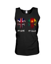 Home United Kingdom - Blood Cameroon Unisex Tank thumbnail