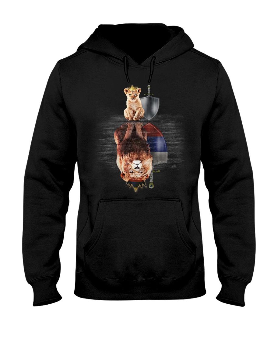 Lion-Russia Hooded Sweatshirt