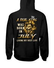 KING 07 Hooded Sweatshirt back