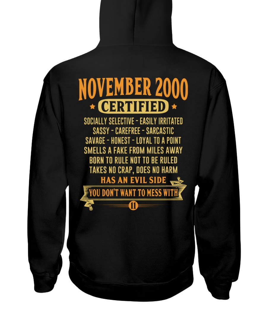 MESS WITH YEAR 00-11 Hooded Sweatshirt