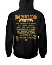MESS WITH YEAR 00-11 Hooded Sweatshirt back