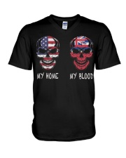 My Home America - Hawaii V-Neck T-Shirt thumbnail