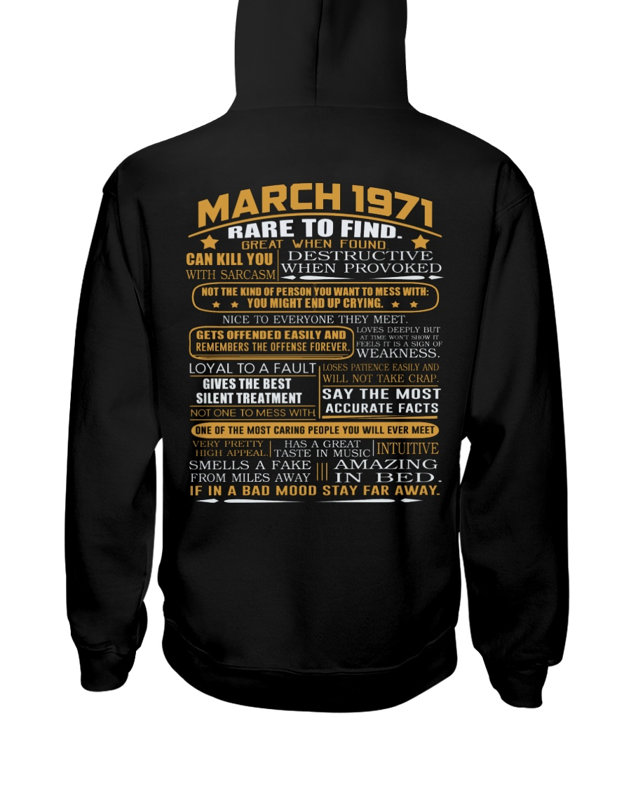 YEAR GREAT 71-3 Hooded Sweatshirt