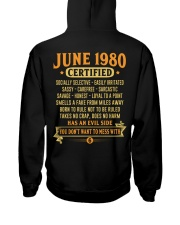 MESS WITH YEAR 80-6 Hooded Sweatshirt back