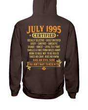 MESS WITH YEAR 95-7 Hooded Sweatshirt back