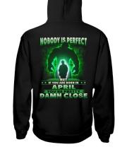 NOBODY MONTH 4 Hooded Sweatshirt back