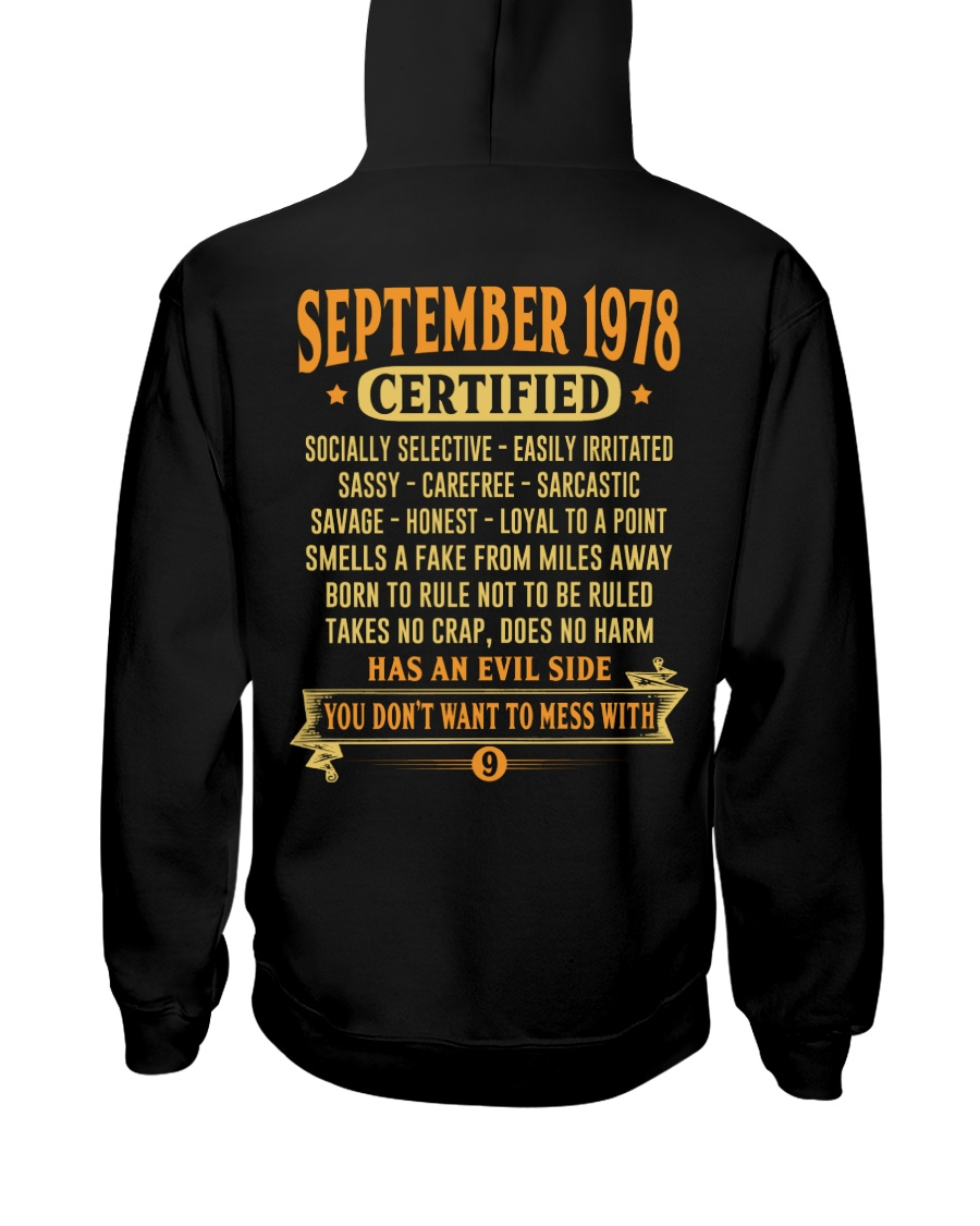MESS WITH YEAR 78-9 Hooded Sweatshirt