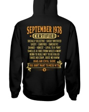 MESS WITH YEAR 78-9 Hooded Sweatshirt back