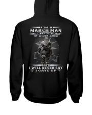 THE MAN 3 Hooded Sweatshirt back