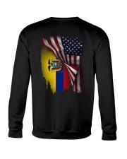 Flag-America-Ecuador Crewneck Sweatshirt thumbnail