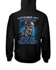 NOT MY 73-9 Hooded Sweatshirt back