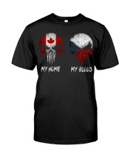 SKULL Canada - Czech Republic Classic T-Shirt front