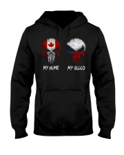 SKULL Canada - Czech Republic Hooded Sweatshirt tile